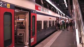 Download How to get to town from Zurich Airport by train Video