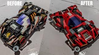 Download BROCKEN GIGANT Full RePaint Airbrush Detailing TAMIYA MINI 4WD Video