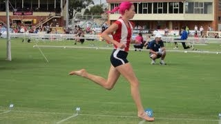 Download Observations on good running technique with Olympian Victoria Mitchell Video