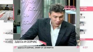 Download Немцов о своем деле и о Навальном Video