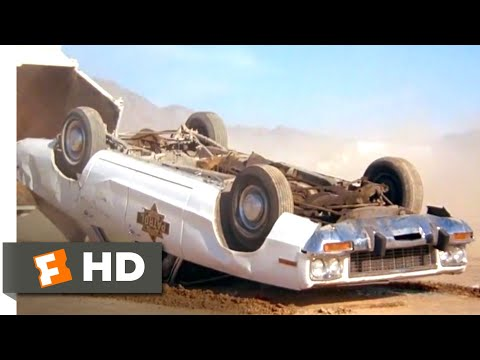 Smokey and the Bandit II (1980) - Desert Demolition Derby Scene (10/10) | Movieclips