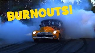 Download Car Event Turns Into a Burnout Show!! - Vantaa Cruising - May 2017 Video