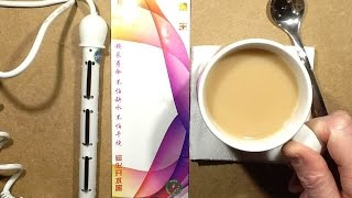 Download Dangerous 240V Coffee-Cutor (coffee cup electrode boiler.) Video