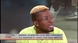 Download Alessandra Mussolini contro Bello Figo Gu durante la trasmissione ″dalla vostra parte″ Video