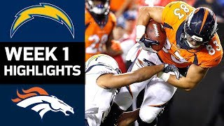 Download Chargers vs. Broncos | NFL Week 1 Game Highlights Video