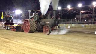 Download 110HP Case Steam Tractor Pull Pinckneyville Illinois August 15 2014 Video