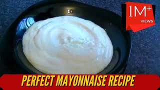 Download MAYONNAISE RECIPE *COOK WITH FAIZA* Video