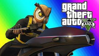 Download GTA 5 Online Funny Moments - Flying Rocket Bike Race! Video