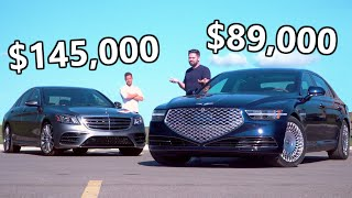 Download 2020 NEW Genesis G90 vs Mercedes S-Class // When The Bargain Meets The Boss Video