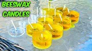 Download How to Make Candles - Beeswax Candles Video