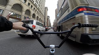 Download DailyCruise 12: Brooklyn to Manhattan BMX NYC Video