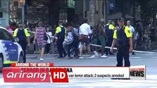 Download 13 dead, 100+ hurt in Barcelona van terror attack; 2 suspects arrested Video
