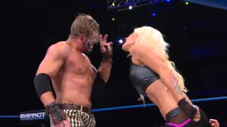 Download Angelina Love, DJ Z and Jessie Godderz vs. Crazzy Steve, Rebel and Knux (Oct 15, 2014) Video