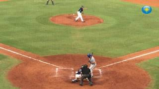Download Tim Tebow of the St. Lucie Mets hits a three-run homer against the Charlotte Stone Crabs on Saturday Video