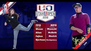 Download Round One 2018 Utah Open - FPO & MPO Coverage Video