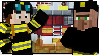 Download Minecraft | THE FIREFIGHTER MISSION!! | Custom Mod Adventure Video