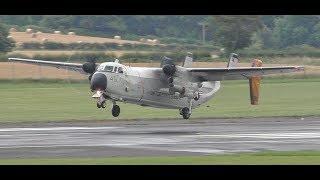 Download *VERY RARE* US Navy Grumman C2 Greyhound Landings & Takeoff at Prestwick Airport Video
