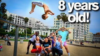 Download Extreme Acro Gymnasts vs 8 YEAR OLD *dares* Video
