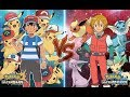 Download Pokemon Ultra Sun and Ultra Moon Ash Vs Virgil (All Pikachu Vs All Eevee Evolutions) Video