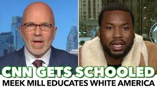 Download Meek Mill Schools CNN Host With Black American Reality Video
