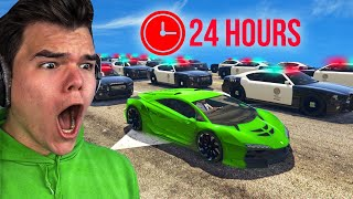 Download Playing GTA 5 For 24 Hours Without BREAKING LAWS! Video