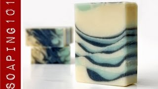 Download Tilted Tiger Stripe Swirl Soap {feather swirl top} S2W24 Video