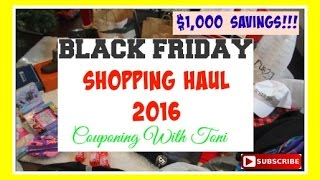 Download BLACK FRIDAY SHOPPING HAUL | SAVED OVER $1,000 DOLLARS | AMAZING Video
