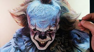 Download Cómo Dibujar a Pennywise (IT) Realista | Especial Halloween | How to draw Pennywise Video