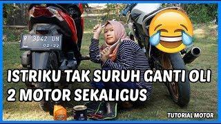 Download Istriku Udah Pinter Ganti Oli Pake Oli TOP1 😂 Video