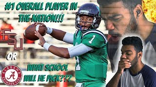 Download The #1 Player/QB In High School!!!!!- Justin Fields Highlights [Reaction] Video
