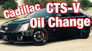 Download 2014 Cadillac CTS-V Wagon OIL CHANGE Video
