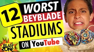 Download 12 Worst Beyblade Stadiums on Youtube! Epic Compilation of Funny Beyblade Stadiums! Video