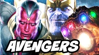Download Avengers Infinity War Vision vs Thanos Black Order BTS Scene Explained Video