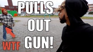Download MAN THREATENS TO SHOOT ME!!! Video