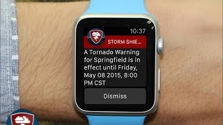 Download Apple Watch: New Update for Storm Shield! Video
