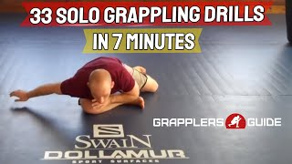Download 33 Solo Grappling BJJ Drills in 7 Minutes - Jason Scully Video