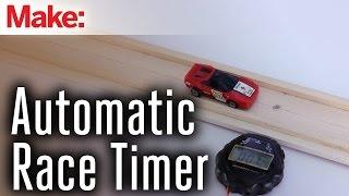 Download Sensor-Triggered Toy Race Car Timer Video