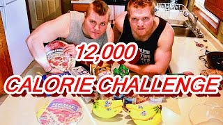 Download 10,000 CALORIE CHALLENGE DOMINATION! OR WAS IT THE 12,000 CALORIE CHALLENGE! Video