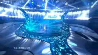 Download Eurovision 2008 Final - Sweden - Charlotte Perrelli - Hero Video