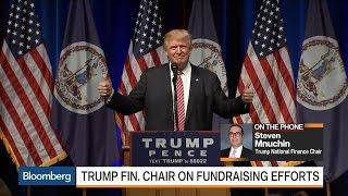 Download Mnuchin on Trump Raising $80 Million in July Video