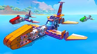 Download BUILD THE FASTEST BOAT CHALLENGE!! - Trailmakers Video