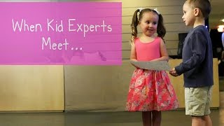 Download Kid Experts Brielle and Nate's Memorable Meeting Video