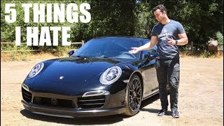 Download 5 Things I HATE About The Porsche 911 Turbo S Video