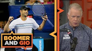 Download Andy Roddick on the state of Tennis | Boomer & Gio Video