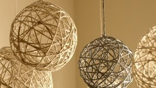 Download DIY Christmas String Ornaments and Lanterns Video