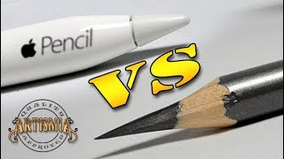 Download Apple Pencil VS A Real Pencil ~ Artismia Drawing ( iPad Pro & Paper by 53 ) Video