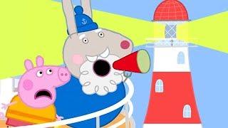 Download Peppa Pig Français | Le phare de Papy Rabbit | Dessin Animé Video