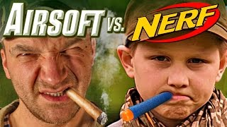 Download Airsoft vs Nerf Video
