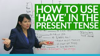 Download Learn English Grammar: ″to have″ in the present tense Video
