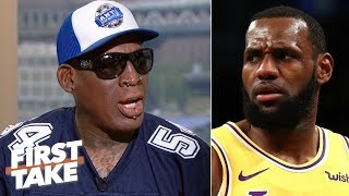 Download MJ is the GOAT over LeBron, would average 50 points if he played today - Dennis Rodman | First Take Video